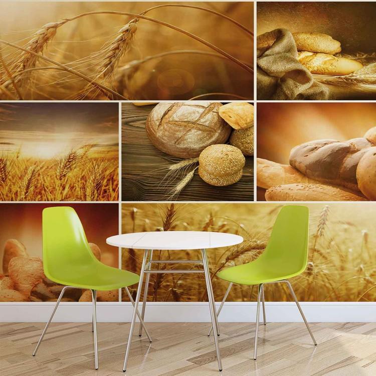 Wallpaper Mural Food Bread