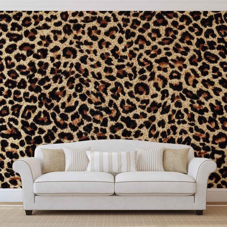 Wallpaper Mural Leopard