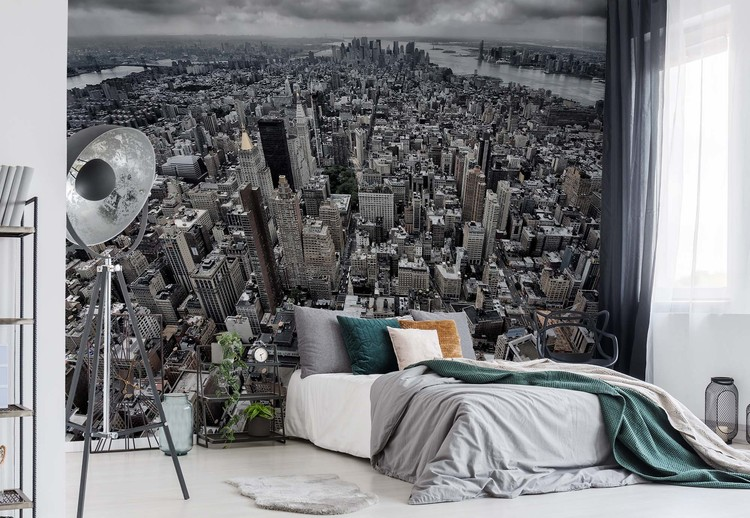 Wallpaper Mural On Top