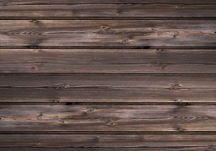 Wallpaper Mural Pattern Brown Wood