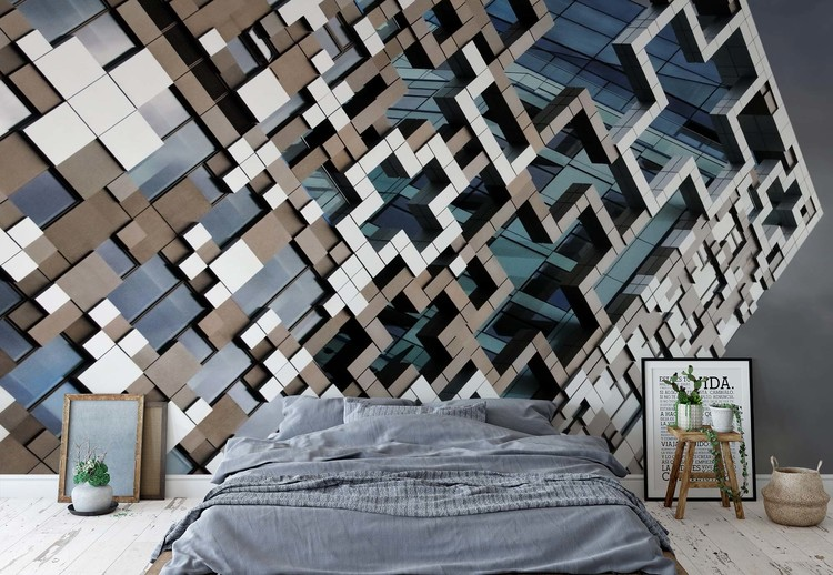 Wallpaper Mural Puzzle Facade