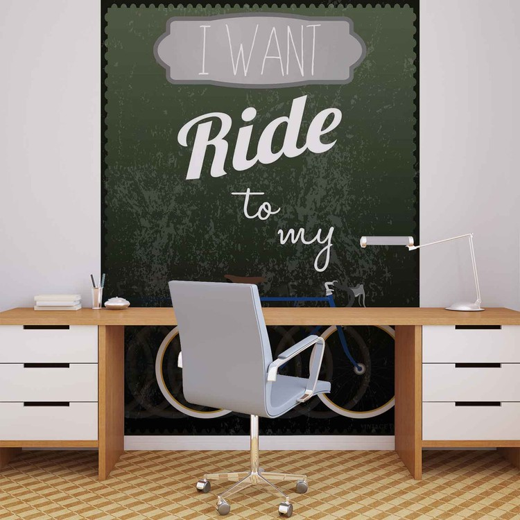 Wallpaper Mural Racing Bicycle