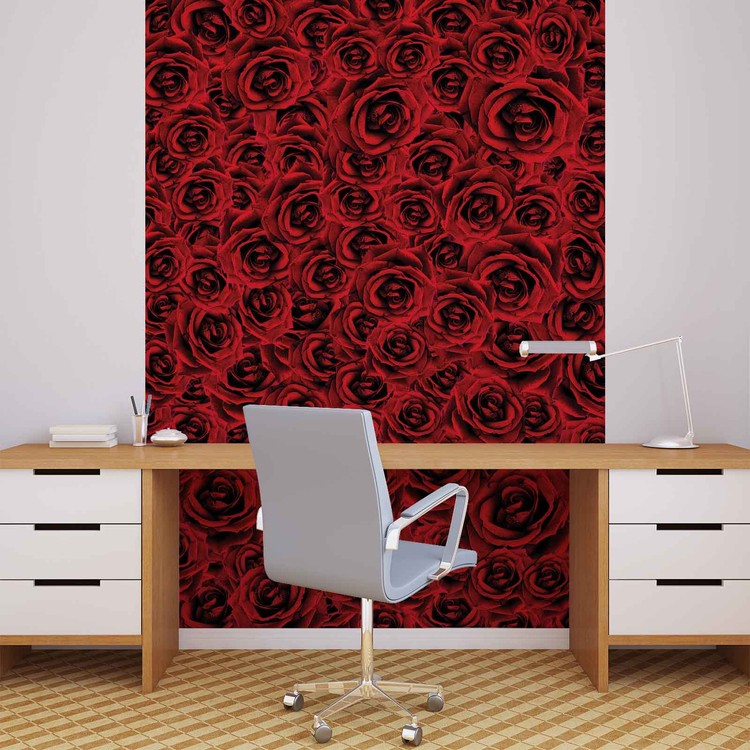 Wallpaper Mural Roses