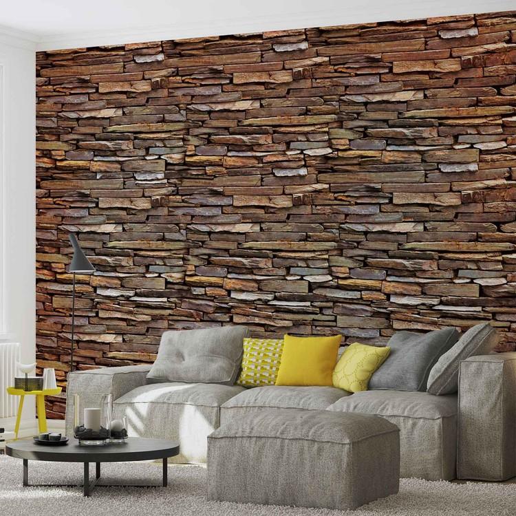 Wallpaper Mural Stone Wall