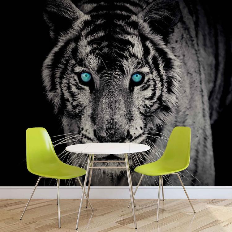 Wallpaper Mural Tiger Animal