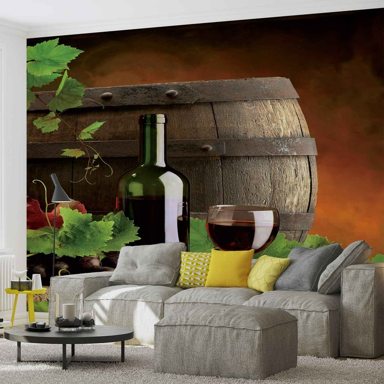 Wallpaper Mural Wine