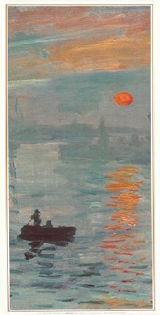 Impression, Sunrise - Impression, soleil levant, 1872 (part) Reproduction d'art