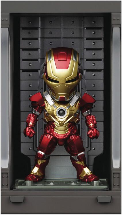 Figurine Iron Man 3 - Iron Mark XVII with Hall of Armor