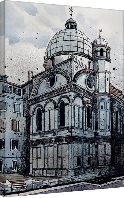 Jack the Flipper - Venice I Canvas Print
