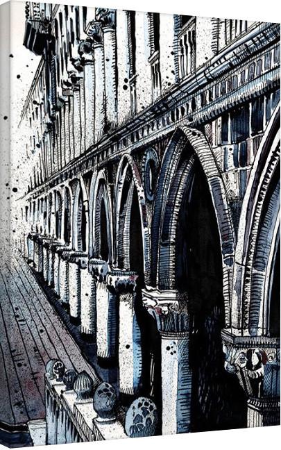 Jack the Flipper - Venice II Canvas Print
