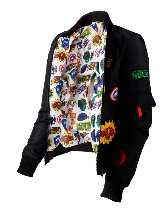 Marvel - Black Patches Jacket