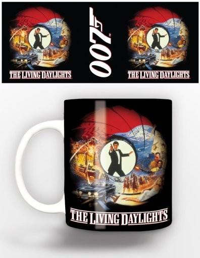 Cup James Bond - living day lights