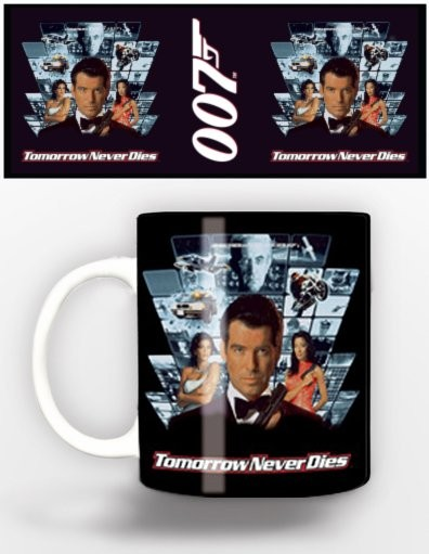Cup James Bond - tomorrow never dies