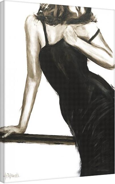 Janel Eleftherakis - Little Black Dress III Canvas Print