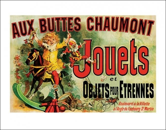 Jouets - As Seen on Friends Reproduction d'art