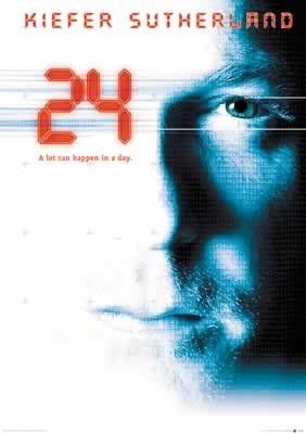 Juliste 24 - Kiefer Sutherland