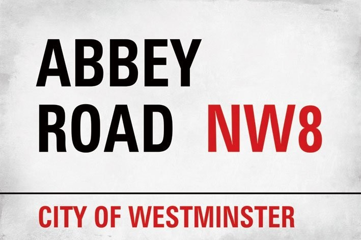 Juliste Abbey road