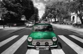 Juliste Abbey road - mini