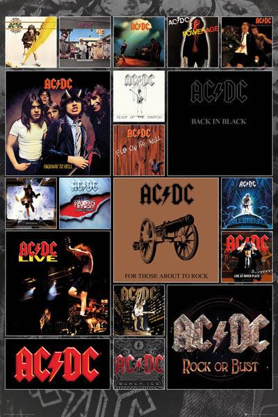 Juliste AC/DC - Covers