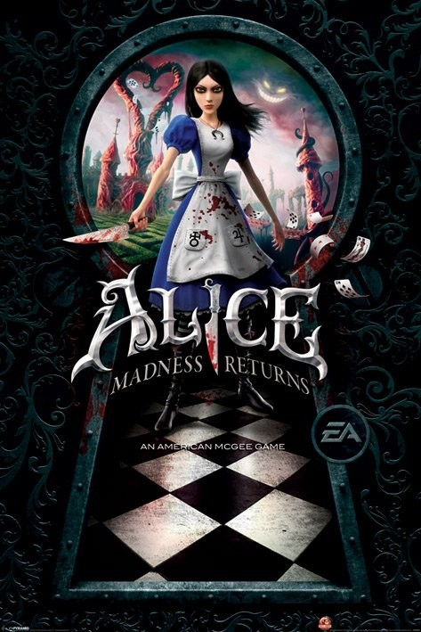 Juliste Alice - madness returns