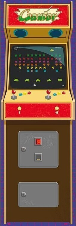 Juliste Arcade Gamer