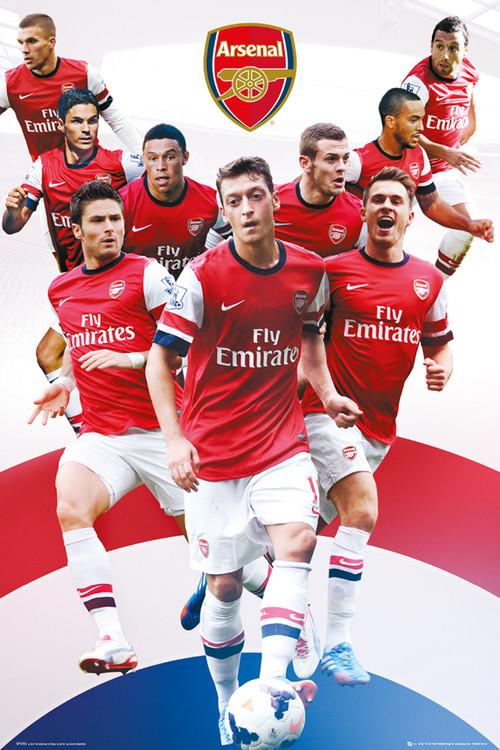 Juliste Arsenal FC - Players 13/14