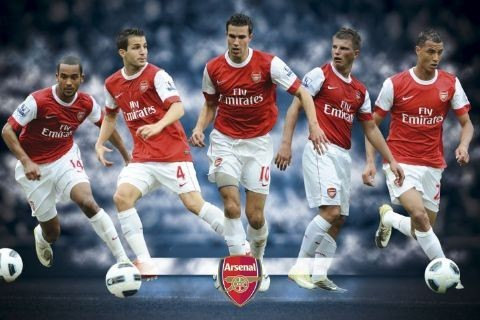 Juliste Arsenal - players 2010/2011