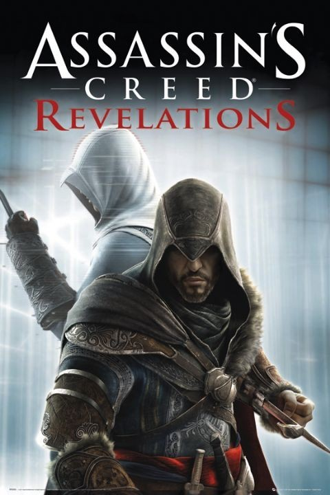 Juliste Assassin's creed Relevations - knives