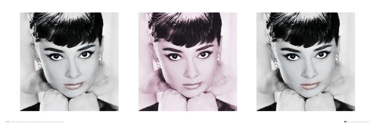 Juliste Audrey Hepburn - lips