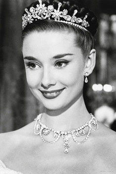 Juliste Audrey Hepburn - roman holiday