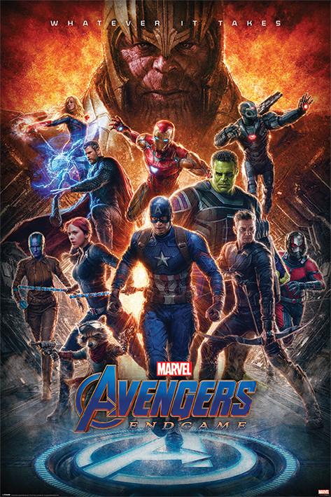 Juliste  Avengers: Endgame - Whatever It Takes