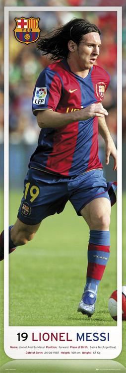 Juliste Barcelona - Messi 07/08