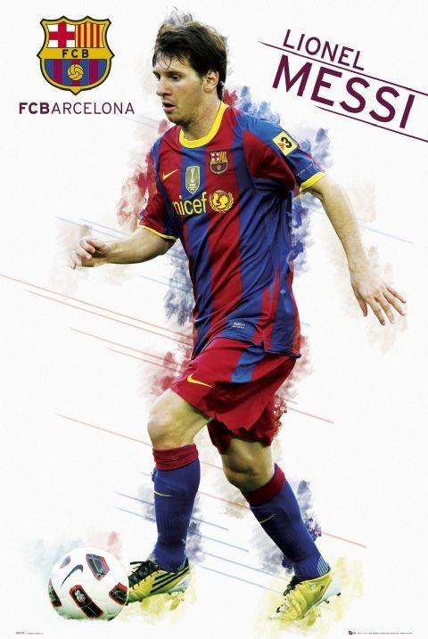 Juliste Barcelona - Messi 2010/2011