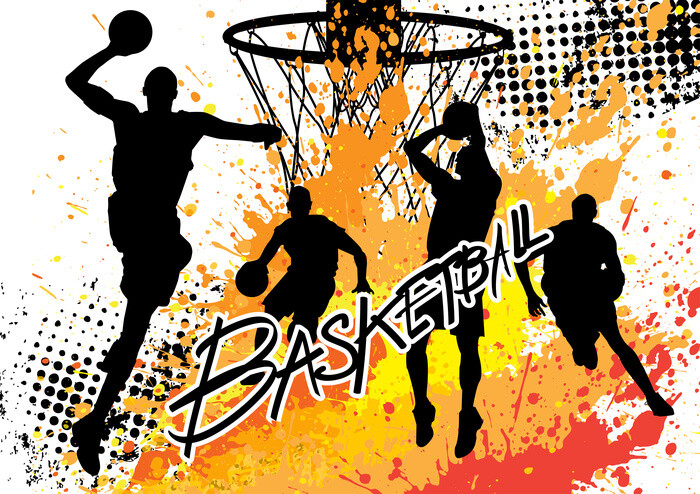 Juliste Basketball - Colour Splash