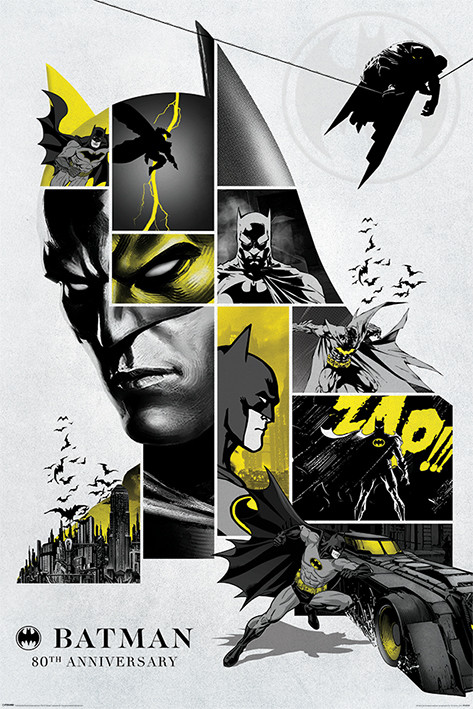 Juliste  Batman - 80th Anniversary