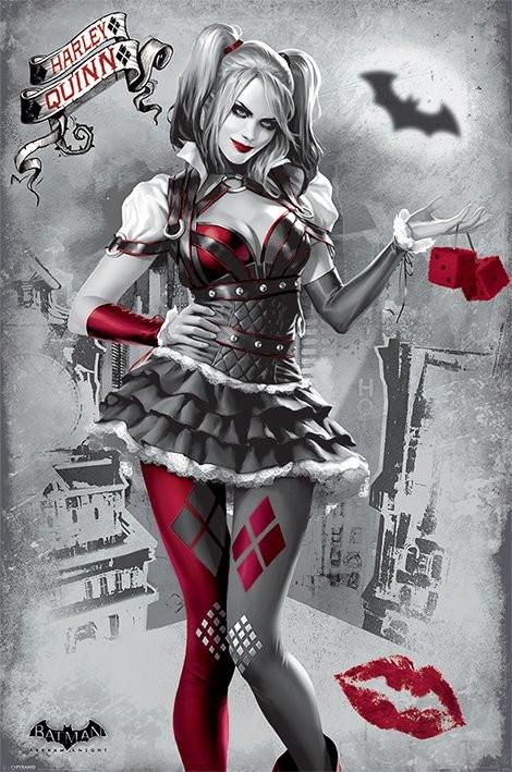 Juliste Batman Arkham Knight - Harley Quinn