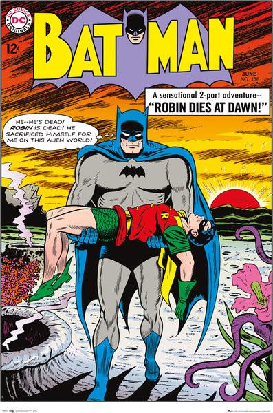 Juliste Batman Comic - Robin Dies at Dawn
