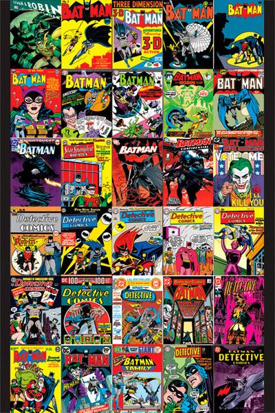 Juliste BATMAN - covers