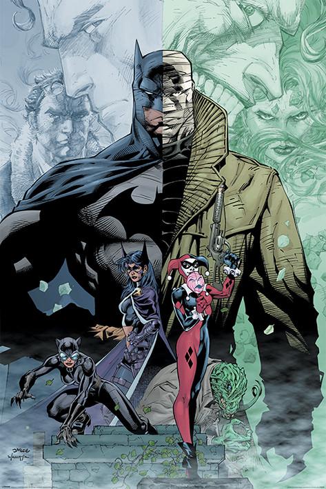 Juliste  Batman - Hush