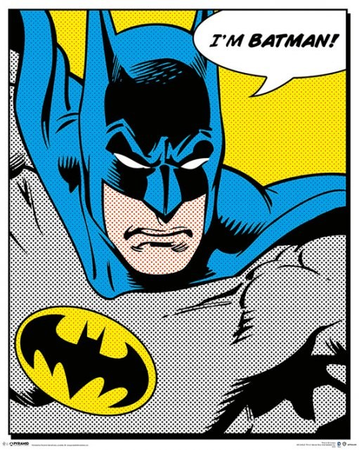 Juliste BATMAN - quote