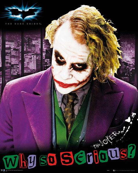Juliste Batman The Dark Knight Joker