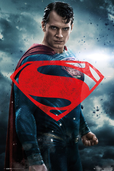 Juliste  Batman v Superman: Dawn of Justice - Superman Solo