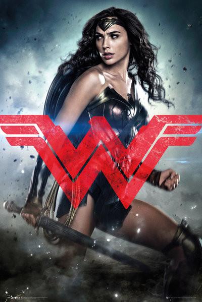 Juliste Batman v Superman: Dawn of Justice - Wonder Woman Solo