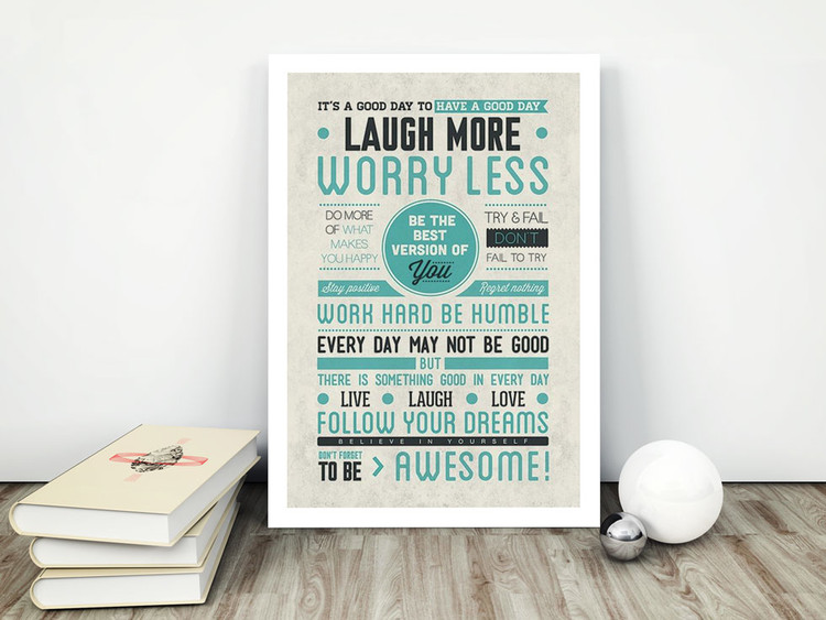 Juliste  Be awesome