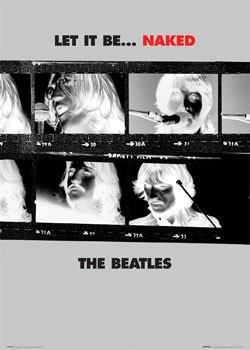 Juliste Beatles - let it be