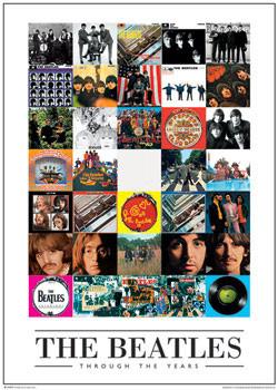 Juliste Beatles - through the years