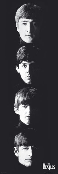 Juliste Beatles – with The