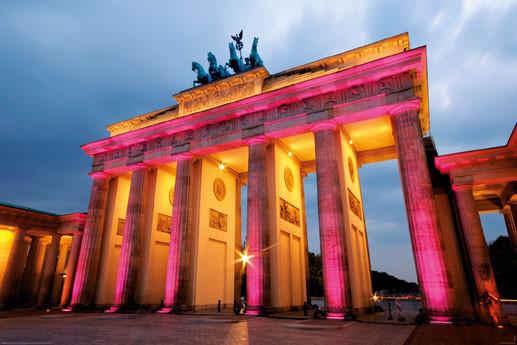 Juliste Berlin - brandenburger tor