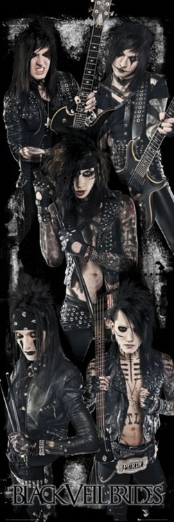 Juliste Black veil brides