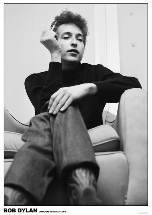 Juliste Bob Dylan - London 1964